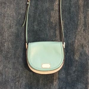 Kate Spade Teal and Light Blue Purse